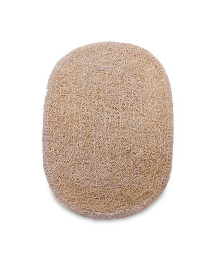 Loofah soap pad