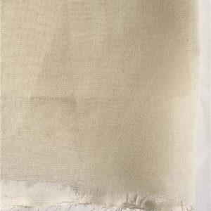 fine loomstate organic cotton muslin