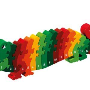 Lanka Kade Wooden Crocodile 1-25 Jigsaw