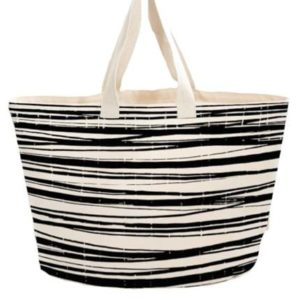 organic cotton beach bag - 2 colours