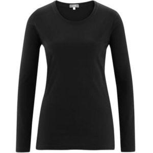 Organic cotton women's long sleeve t-shirt